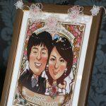 結婚式ウェルカムボードやお祝い・感謝の贈り物に世界に一つだけの似顔絵を♪【にがおえ屋.com】